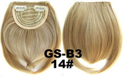 #14 100% High Temperature Synthetic Fibre Clip In/On Front Hair Fringe Hair Bangs