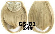 #24 100% High Temperature Synthetic Fibre Clip In/On Front Hair Fringe Hair Bangs