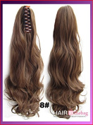 #8 Wavy Claw Hair Ponytail Hair Pieces
