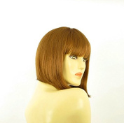 Short Wig Woman Blond Smooth Copper Ref FLORENCE 27
