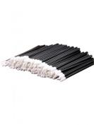 Ardisle 100pcs Cosmetic Disposable Lip Brush Gloss Wands Applicator Makeup Tool Beauty