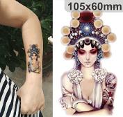 Body Art Temporary Removable Tattoo Stickers Girl #2 Sticker Tattoo - FashionLife