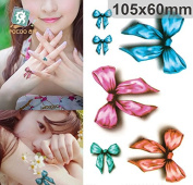 Body Art Temporary Removable Tattoo Stickers Butterfly #4 Sticker Tattoo - FashionLife