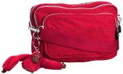 Kipling Womens Multiple Cross-Body Bag Flamboyant Pink