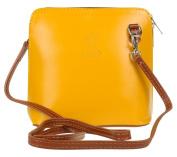 Girly HandBags Genuine Leather Rigid Cross Body Shoulder Bag Real Italian