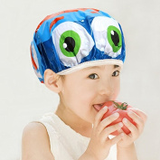 PVC Cartoons Kid Girls Boys waterproof shower cap ,colourful