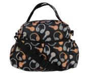 Re-Uz Work School Lunch Bag Baby Snack Bottle Bag Hand Bag - Black Beats