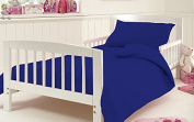 Cot Quilt Cover With Pillow Case 200 Threat Count 100% Egyptian Cotton By * Textile.Plus *
