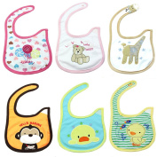 HeroNeo® HOT Baby Infants Kids Boy Girl Waterproof Cartoon Cotton Lunch Bibs Saliva Towel
