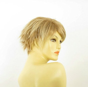 Short Wig Smooth Women in Light Copper Blond with Light Blond Ref