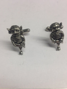 Lincoln Imp PP-G50 English Pewter Cufflinks