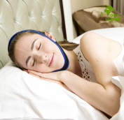 Anti-Snore Chin Strap Clip by One Planet, with Anti-Snore Nose Clip, Stops Heavy Breathing & Enjoy Restful Quality Sleep, Adjustable Wide Chin Straps For Comfortable Use, Sleep Better Now!