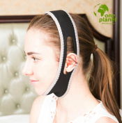 Anti-Snore Chin Strap by One Planet, with Anti-Snore Nose Clip, Adjustable & Triangle Shape, Stop Heavy Breathing, Features a Chin & Head Supporting Strap, Sleep Better Now!