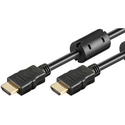 Ewent HDMI Cable-Ultra HD 4 K, 8 M, Black