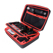 Fantaseal® 50-in-1 Accessories kit Case for GoPro Accessories Bundle GoPro Mounts GoPro set GoPro Gears GoPro Attachments Part GoPro Gadgets w/ Waterproof Dual-Layer Anti-Shock Carrying Case , Chest Mount, Headstrap Mount, Selfie Stick, Bike Mount, Hel ..