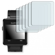 6x Golebo Anti-Glare screen protector for Garmin vivoactive