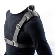 I-Dragon Chest Shoulder Strap Mount Harness for GoPro, GoPro HD, GoPro HRR03+, GoPro Hero4, Sj4000 camera