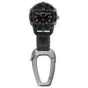 Dakota Men's Phase III Carabiner Clip Watch