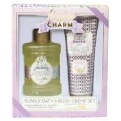 Bubble & Charm Bubble Bath & Body Creme Set - Cups of Tea