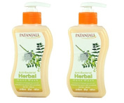 Patanjali Anti Bacterial Herbal Hand Wash 250ml (Pack of 2) - Pamherbals®