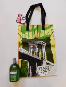 Trader Joe's Nourish Herbal Blend Lemongrass & Clary Sage Liquid Soap And NY Reusable Shopping Bag