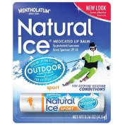 Natural Ice Medicated Lip Protectant / Sport Sunscreen SPF 30 5ml -1 Pack