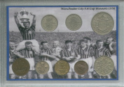 Manchester Man City (The Citizens Blues) Vintage FA Cup Final Winners Retro Coin Present Display Gift Set 1956