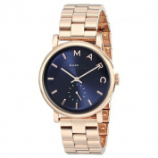 Marc Jacobs Women's MBM3330 Baker Blue Rosetone Stainless Steel Watch