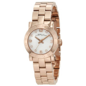 Marc Jacobs Women's MBM3078 'Mini Amy' Rose-tone Stainless Steel Watch