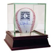 Rickey Henderson Signed Hall of Fame Logo Baseball
