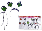 HALLOWEEN HAIR BAND 6ASST , Case of 144