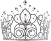 #16109 - Maus Spray Crown - Crystal - 15cm by Ejools