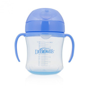 Dr. Brown's Soft-Spout toddler Cup for Boys, Blue, 180ml