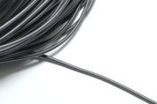 16ft (4.87m) (5.33 yards) Black 1.5mm Round Rubber Cords. Great Cording Supplies #SD-S7466