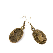 1 Pair Earring Jewellery Making Charms Antique Bronze Findings Hooks Supplies Wholesale Supply Handmade Y7IX7 Queen Signs