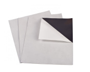 10cm x 15cm Adhesive Magnetic Sheets 30 mil - 25 Pack