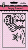 Hot Off the Press Hanging Ornaments Embossing Folder HOTP6025