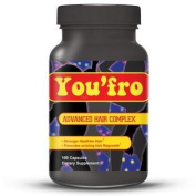 You Fro - #1 Hair Regrowth Treatment - 100 Capsules Hair Growth Multivitamin Complex