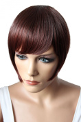 PRETTYSHOP Fringe Bangs Clip in Extension Hair Piece Heat-Resisting Synthetic Fibre