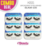 Kiss Broadway Eyelashes Combo Deal 6-Packs