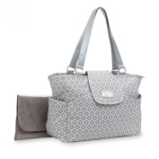 Carter's Carter's Fashion Flap Tote with Metalic Accents