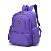 YuHan Baby Nappy Bag Travel Backpack Handbag Large Capacity Fit Stroller Purple