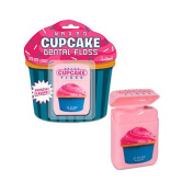 Cupcake Dental Floss, Frosting Flavour Waxed Kids Flossers