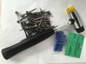 Lead & Glass Stop Blocks, Glazing Hammer & Horseshoe Nails