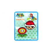 Inagaki clothing Super Mario seal emblem red shell & Fire Flower seal and ironing amphibious MRS005
