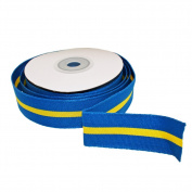 Sweden Ribbon - 2.5cm Grosgrain - 8 metres