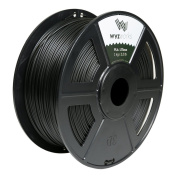 WYZworks PLA 1.75mm [ TRANSLUCENT BLACK ] Premium Thermoplastic Polylactic Acid 3D Printer Filament - Dimensional Accuracy +/- 0.05mm 1kg / 2.2lb + [ Multiple Colour Options Available ]