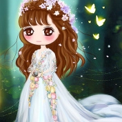 5D DIY Crystal Diamond Rhinestone Painting By Number Cross Stitch Embroidery DIY Craft Flower Fairy (40x50)CM