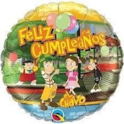 El Chavo del 8 Balloons 3PC Mylar Party Supplies Favours Decoration Centrepiece