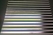 12x12 Cardstock Papers - Foil Silver Stripe - 2pcs